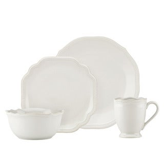Lenox French Perle Bead White 4-piece Place Setting