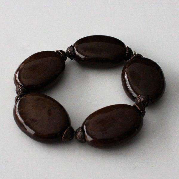Porcelain Stretch Bracelet