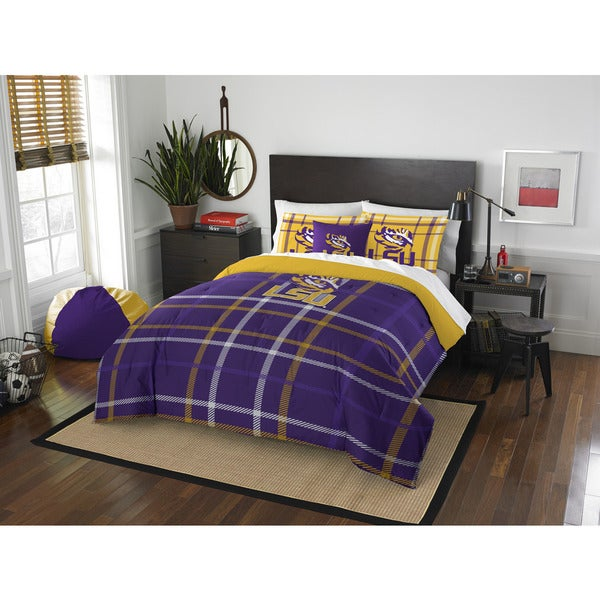 The Northwest Company COL 836 LSU Full Comforter Set