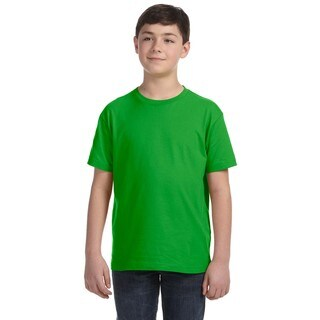 Youth Red Fine Jersey T-shirt