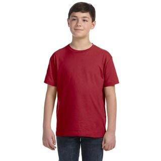 Boys' Garnet Fine Jersey T-shirt