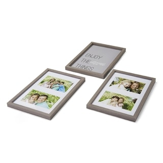 Melannco Collages Enjoy The Little Things (Pack of 3)