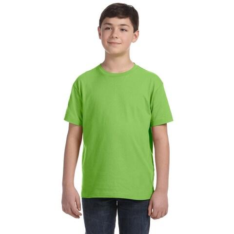 Boys' Key Lime Fine Jersey T-shirt