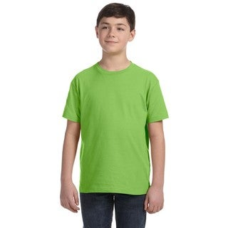 Boys' Key Lime Fine Jersey T-shirt