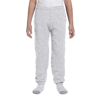 Jerzees NuBlend Youth Grey Polyester Sweatpants