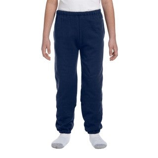 Jerzees NuBlend Youth Blue Polyester Sweatpants