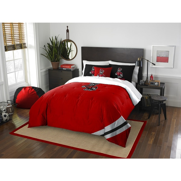 The Northwest Company COL 836 NC State Full Comforter Set