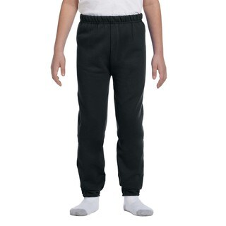 Jerzees Youth Nublend Black Sweatpants