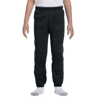 Jerzees Youth Nublend Black Sweatpants (4 options available)