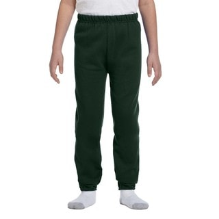 Nublend Boys' Forest Green Sweatpants
