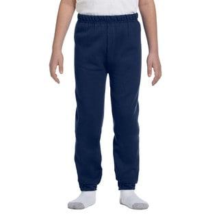 Jerzees Nublend Youth Blue Fleece Sweatpants