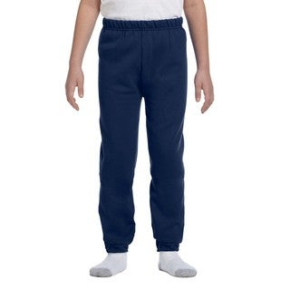 Jerzees Nublend Youth Blue Fleece Sweatpants