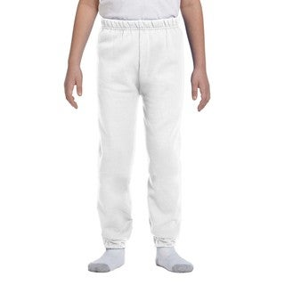 Nublend Youth White Sweatpants