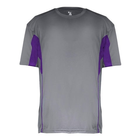 Drive Youth Graphite/Purple Short Sleeve T-shirt