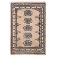 Herat Oriental Pakistani Hand-knotted Bokhara Wool Rug - 2' x 3'