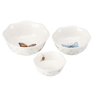 Lenox Butterfly Meadow Prep Bowls (Pack of 3) (As Is Item)