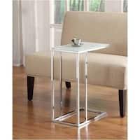 LYKE Home Chrome End Table