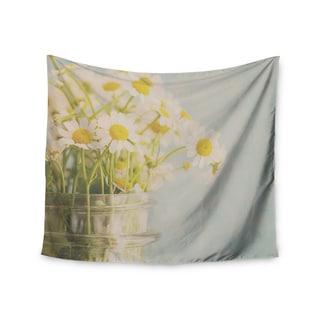 Kess InHouse Laura Evans 'O Daisy' 51x60-inch Wall Tapestry