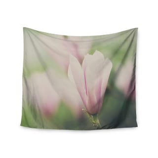 Kess InHouse Laura Evans 'A Pink Magnolia' 51x60-inch Wall Tapestry