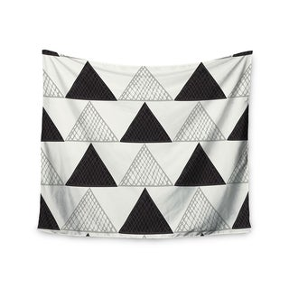 Kess InHouse Laurie Baars 'Textured Triangles' 51x60-inch Wall Tapestry