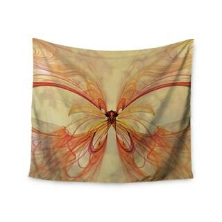 "Kess InHouse Alison Coxon ""Papillon"" Wall Tapestry 51'' x 60''"