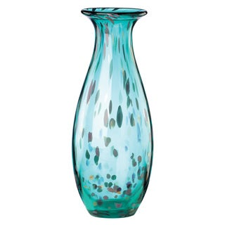 Lenox 70s Collection Blue Crystal 15-inch Large Vase