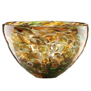 Lenox Seaview Tortoise Medium Glass Bowl