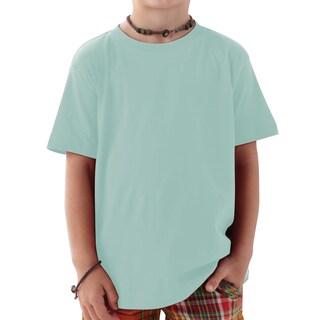 Boys' Chill Green 4.5-ounce Cotton Fine Jersey T-shirt