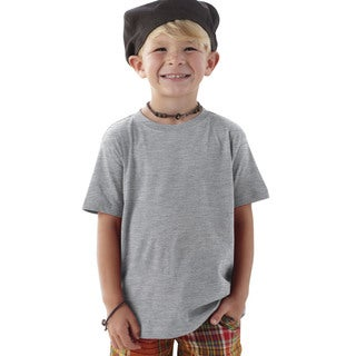 Boys' Grey Cotton T-shirt