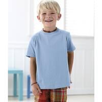 Boys' Light Blue Fine Cotton Jersey T-shirt