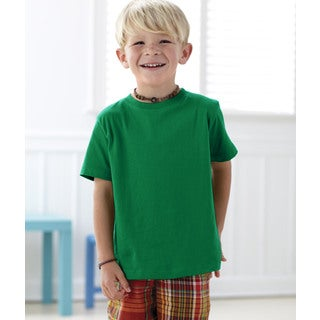 Boys' Kelly 4.5-ounce Cotton Fine Jersey T-shirt