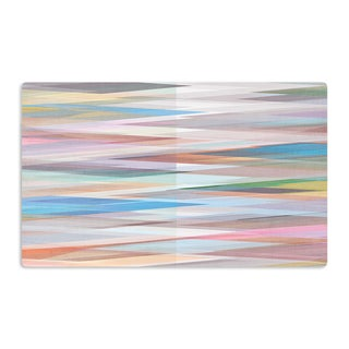 KESS InHouse Mareike Boehmer 'Nordic Combination II' Rainbow Abstract Artistic Aluminum Magnet