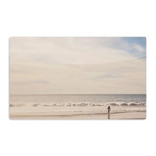 KESS InHouse Myan Soffia 'Ritual' Beach Sand Artistic Aluminum Magnet