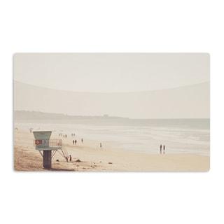 KESS InHouse Myan Soffia 'Beach Day' Beach Ocean Artistic Aluminum Magnet