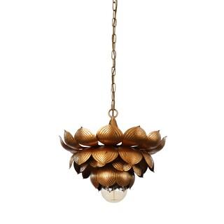 Flowering Lotus Hanging Pendant