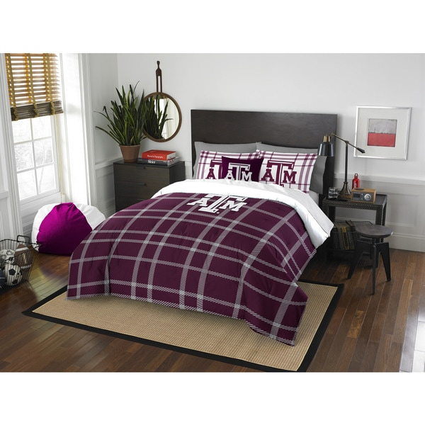The Northwest Company COL 836 Texas A&M Full Comforter Set