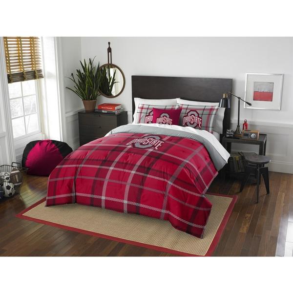 The Northwest Company COL 836 Ohio State Full Comforter Set