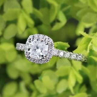 Auriya Platinum 1 1/2ct TDW Certified Cushion-Cut Diamond Halo Engagement Ring|https://ak1.ostkcdn.com/images/products/12131597/P18989069.jpg?_ostk_perf_=percv&impolicy=medium