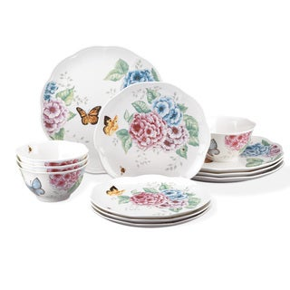 Lenox Butterfly Meadow Hydrangea 12-Piece Set