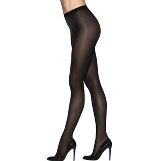 Silk Reflections Women's Pure Bliss Ultra Sheer Women's Tight Black Pantyhose