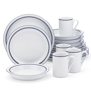 Dansk Christianshavn Blue 16-Piece Place Sitting