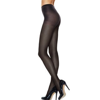 Hanes Women's Silk Reflections Sheer Run Resistant Control Top Tights