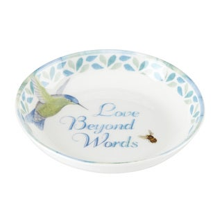 Lenox Butterfly Meadow 'Love Beyond Words' Dish