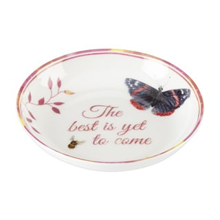 Lenox Butterfly Meadow 'The Best is Yet' Dish