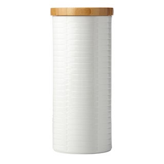 Lenox Entertain 365 Sculpture Tall Canister with Lid