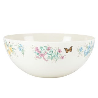 Lenox Butterfly Meadow Melamine Medium Salad Bowl