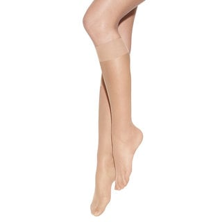 Silk Reflections Women's Pure Bliss Luxe Sheer Knee Highs Barely There Pantyhose