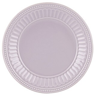 Lenox French Perle Groove Lilac Dessert Plate