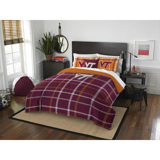The Northwest Company COL 836 Virginia Tech Full Comforter Set