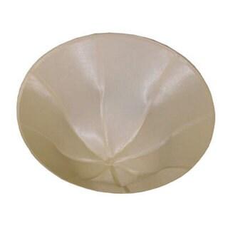 Dainolite 3-light Semi Flush Fixture with Taupe Shade